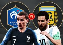ARGENTINA VS FRANCIA