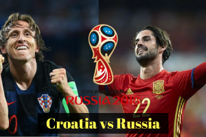 CROATIA VS RUSSIA