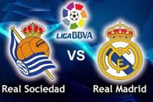 R SOCIEDAD VS REAL MADRID
