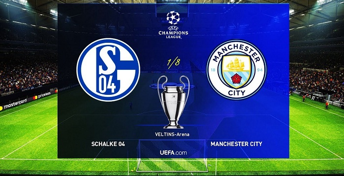 Schalke 04 VS manchester city