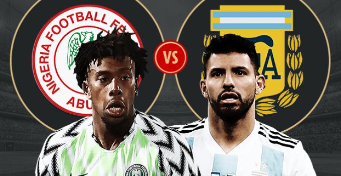 ARGENTINA vs. NIGERIA