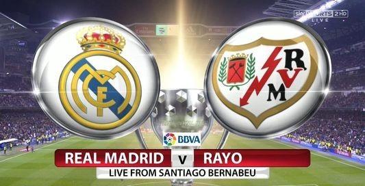 REAL MADRID VS RAYO